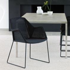 Breeze dining chair, black - Outdoor furniture - Outdoor - Finnish Design Shop