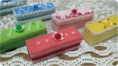 台所スポンジでケーキ の画像|手作りおもちゃで子育て