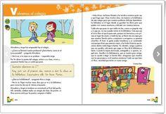 """Unidad Inicial de Lengua Española de 2º de Primaria: """"Volvemos al colegio"""" (Material complementario) Comics, Interactive Activities, Spanish Language, Unity, Initials, Comic Book, Comic Books, Comic, Comic Strips"""