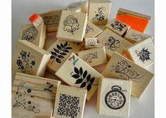 DIY, Coisas fofas papelaria, minha paixão pelo Scrapbook artesanal, híbrido e digital!: Carimbos para Scrapbook