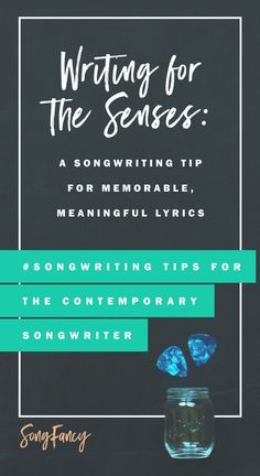 Songwriting tip! Here's how to write better, more meaningful lyrics using all