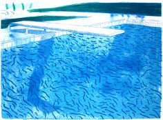 hockney swimming pool | David Hockney, Swimming Pools and the Malaise of the Middle-Class...
