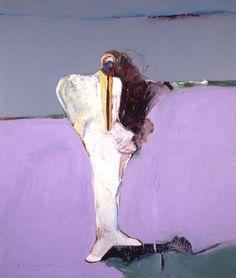 ckhrist: Fritz Scholder  Portrait With White 1983