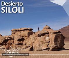 Conozca el desierto Siloli y sus extrañas formaciones rocosas, para saber mas haga click en la imagen