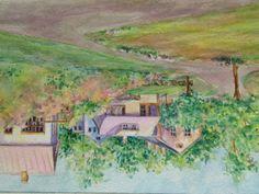 Little Lubec watercolor 5x7