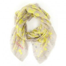 Jane Carr Carre wrap ink scarf. Hennyandmy.com