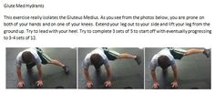 Knee Pain and the Gluteus Medius In Runners. Post Baby Workout, Bum Workout, Leg Workout At Home, Gluteus Medius, Fit Board Workouts, Glute Workouts, Glutes, Fitness Motivation, Fitness Tips