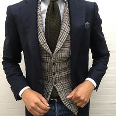 Soon it will be cool enough for layering. Note to self: find a tweed vest