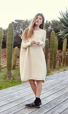 Neola sweater dress - Plümo Ltd
