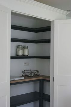 in pantry dimensions small walk in pantry ideas pantry design tool pantry walk in . walk in pantry dimensions small walk in pantry ideas pantry design tool pantry walk in .,walk in pantry dimensions small walk in pantry ide. Kitchen Pantry Design, Kitchen Pantry Cabinets, New Kitchen, Sage Kitchen, Kitchen Ideas, Pantry Cupboard, Floors Kitchen, Kitchen Shelves, Kitchen Inspiration