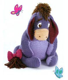 Crochet pattern Eeyore