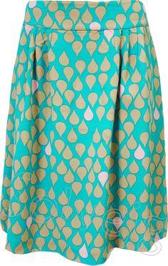 Monsoon rok van Who's That Girl, bij Solvejg.nl webshop voor kleurrijke mode