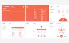 Hanwha Life Lifeplus Branding on Behance Diagram Design, Ppt Design, Layout Design, Branding Design, Graphic Design, Layout Template, Templates, Ppt Template, Business Proposal