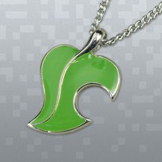 Animal Crossing Leaf Necklace $19.00 from Fangamer