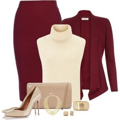 Marsala Fashion by stileclassico on Polyvore featuring moda, Monsoon, Étoile Isabel Marant, Schutz, Hobbs, BCBGMAXAZRIA, marsala and contedt