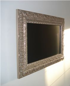 TV Frame. Neat idea.