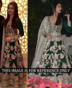 Buy Gowns Online - Designer Gowns for Women, Party Wear Long Gowns Lehenga Choli, Bollywood Lehenga, Bollywood Dress, Bollywood Fashion, Bollywood Style, Bollywood Suits, Indian Bollywood, Indian Gowns, Pakistani Dresses
