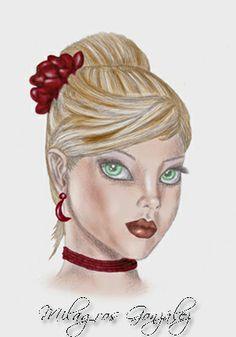 Ilustración técnica tradicional- http://ilustracionmilagrosgonzalez.com