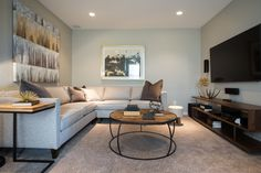 Projects | Rochelle Cote. The bonus room. From 2 Emberside Place Showhome.