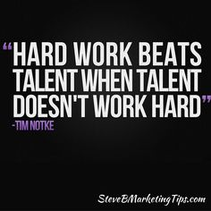 Hard #Work Beats #Talent When Talent Doesn't #WorkHard ____________________________________ Learn how I can help you #attractwealth and build a #residualincome click the link in my bio @steve_bickford or go to: http://ift.tt/2htNi9p ____________________________________ #truth #positive #mindset #inspiration #motivation #bestoftheday #quotes #entrepreneurs #mlm #networkmarketing