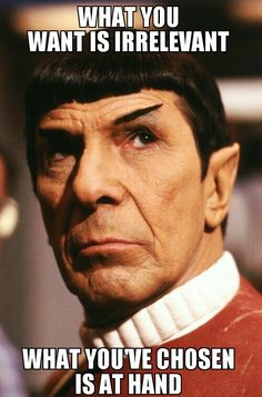 Star Trek VI - Spock tells it like-it-is (logically) to ---> Lt. Valeris after she is caught as under-cover betrayal to the Federation as group member plotting to kill HIgh Chancellor...etc! 8.15 New