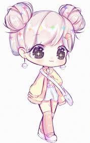 Resultado De Imagen Para Dibujo Anime Chibis Chibi Cute Chibi Y