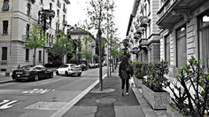 Calles en Lugano Suiza