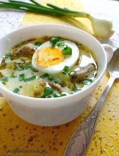 Zupa chrzanowa   Oryginalny smak