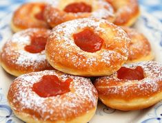 Czech Recipes, Beignets, Doughnut, Donuts, Recipies, Cheesecake, Food And Drink, Cooking Recipes, Sweets