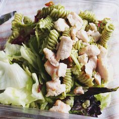 Sallad for breakfast