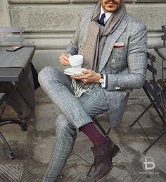 checkered suits for men
