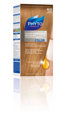 phytocolor coloration permanente tous cheveux nuance 8cd blond vnitien phyto phytoparis - Coloration Phyto