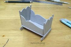 Free Tutorial - How To Make A Dollhouse Cradle