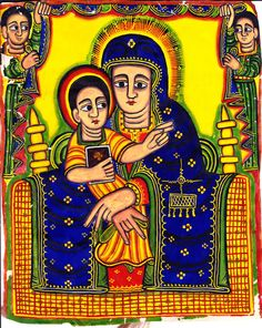 Ethiopian Icon Check out myOCN.net, the largest Orthodox Christian website in the world, for more Orthodox Christian news!