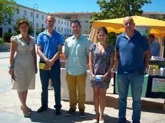 El pasado domingo 28 de mayo estuvimos presente en el I Trueque solidario de libros de Antequera
