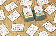#Game #karuta #hyakuninissyu #Waka #haiku