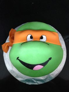 Ninja Turtle Cake @Levi Brown Brown Brown Brown Drake