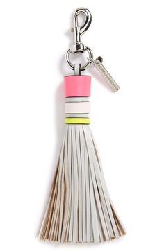 Rebecca+Minkoff+Leather+Tassel+Key+Fob+available+at+#Nordstrom