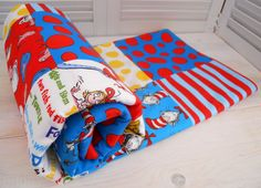 love this. i would like to have custom dr suess blankets for the baby room