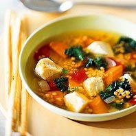 Kale, Lentil, and Chicken Soup