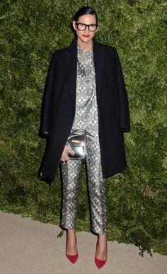 Jenna Lyons at CFDA Vogue Fashion Fund Awards, New York, in November 2012