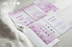 oryginalne zaproszenia ślubne romantyczne pastelowe różowe kwiaty ombre cieniowane akwarela dodatki weselne projekt ślub (6).JPG