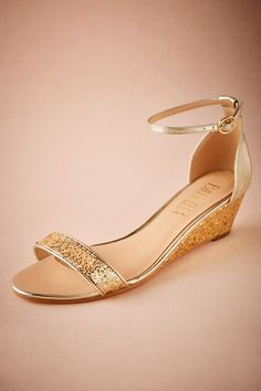 BHLDN Cristal Wedges in Shoes & Accessories Shoes at BHLDN