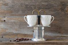 Vintage Rare Bialetti Stove Top Espresso Maker - Two Cup