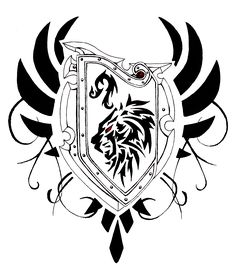 Sword And Shield Tattoo Designs: Real Photo Pictures Images and ...
