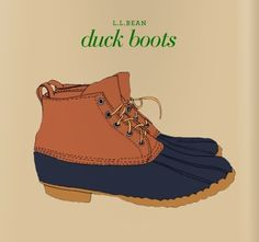 i love my Duck Boots