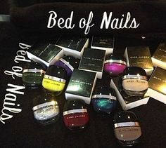Salon Review, Swatches: Bed of Nails Nail Bar: Polishes, Manicures, Pedicures, Gel Service Using Marc Jacobs Nail Lacquer, Deborah Lippmann,...