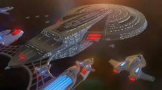 Excalibur class. USS Ark Royal and her javelin escort