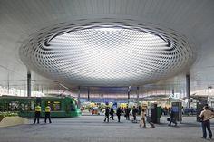 Messe Basel New Hall / Herzog de Meuron, by Hufton + Crow