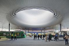 /Messe Basel New Hall / Herzog de Meuron, by Hufton + Crow